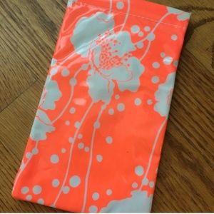 florence broadhurst for kate spade glasses case
